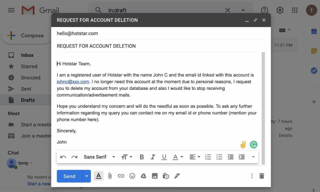 How to Delete Hotstar Account 2020 1