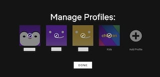How to Share Netflix Account Manage Profile