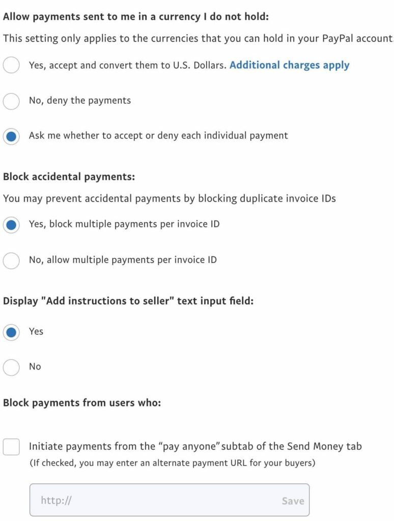 How to block someone on PayPal block user
