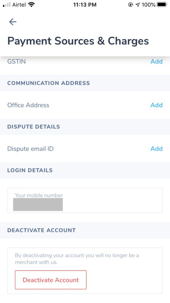 How to Delete Paytm Business Account 4