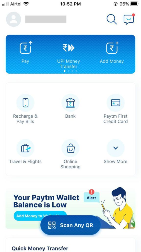 How to Remove Bank Account from Paytm
