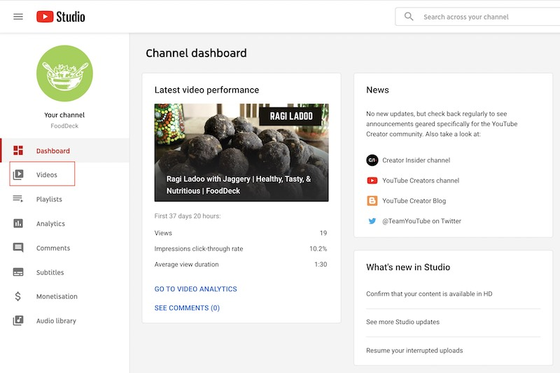 How to Find my Uploaded Videos on YouTube Easily-1