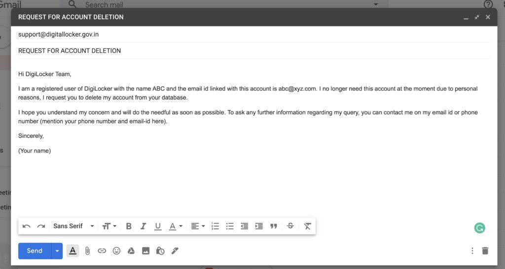 How to Delete DigiLocker Account