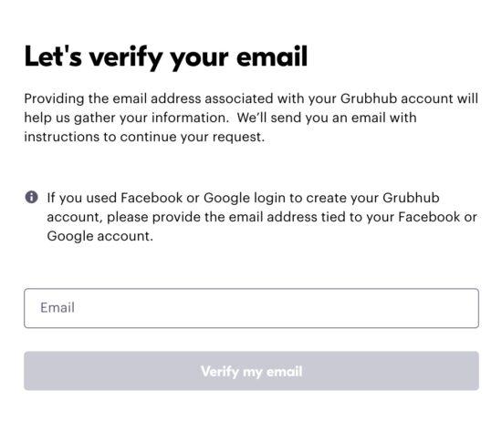How To Delete Grubhub Account Easily 2