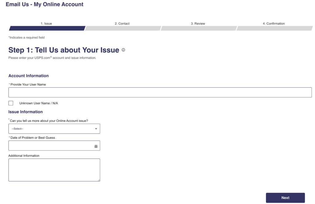 How to Delete USPS account - Complete Guide 3