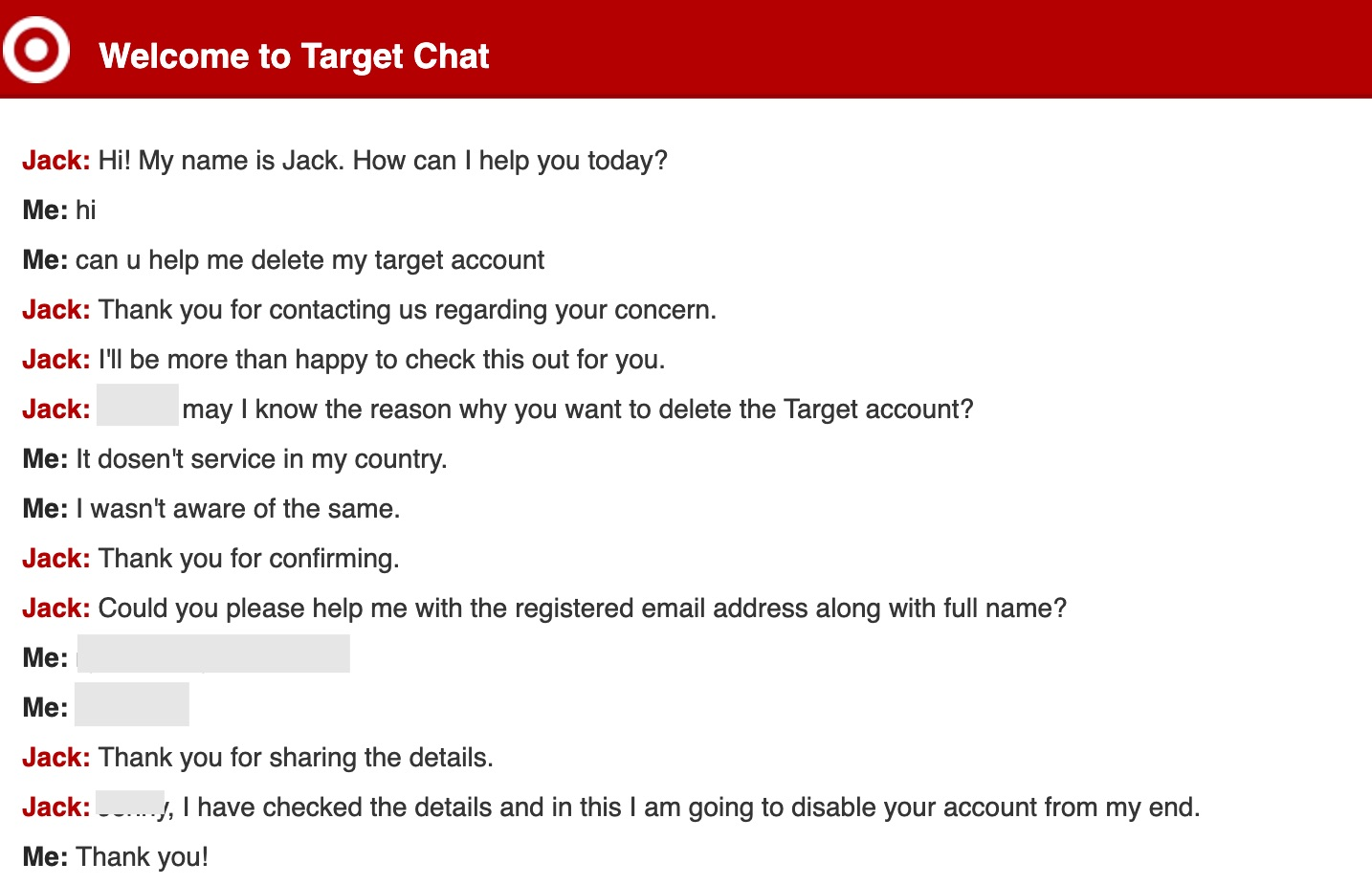 How to Delete Target Account? Step-by-Step Guide with Screenshots 5